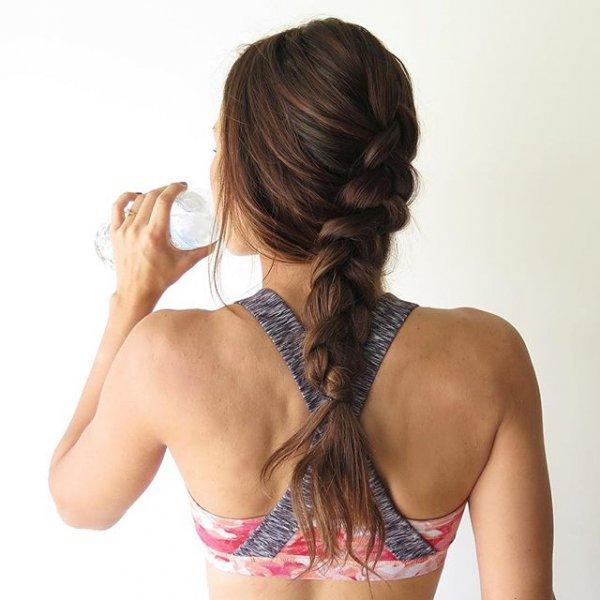 clothing, hair, hairstyle, brassiere, bangs,