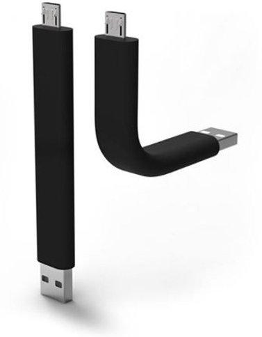 TRUNK, Black, Micro USB to USB