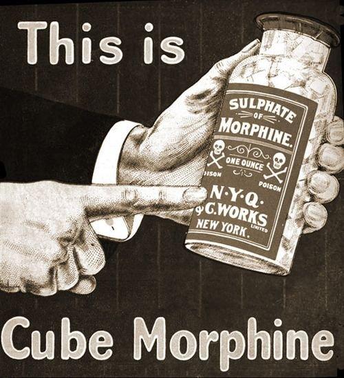 Cube Morphine
