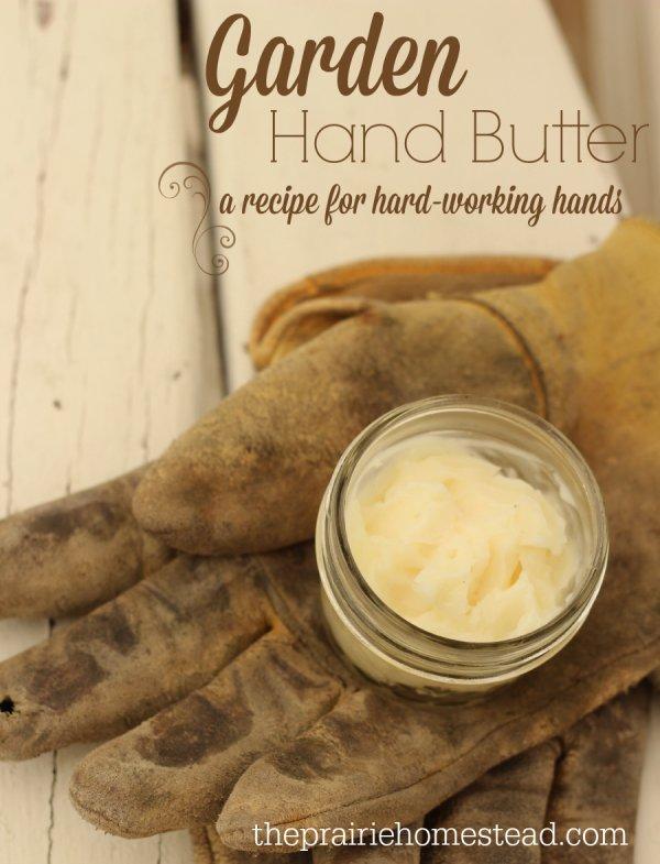 Garden Hand Butter