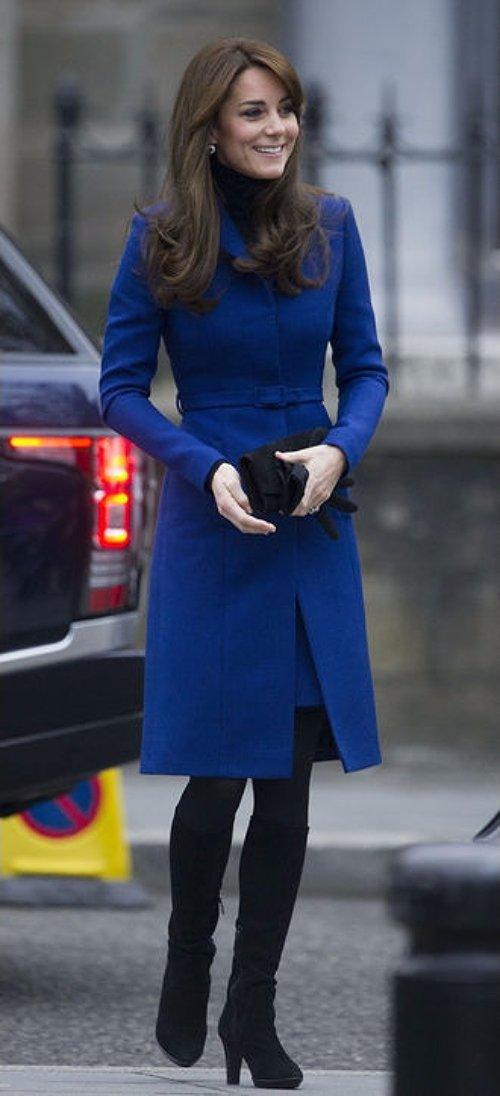 Bright Blue Coat