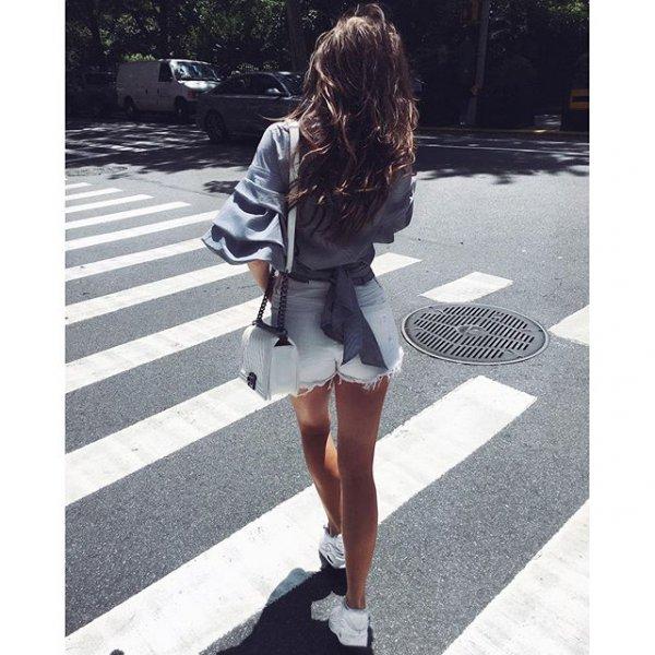 white, clothing, footwear, denim, dress,
