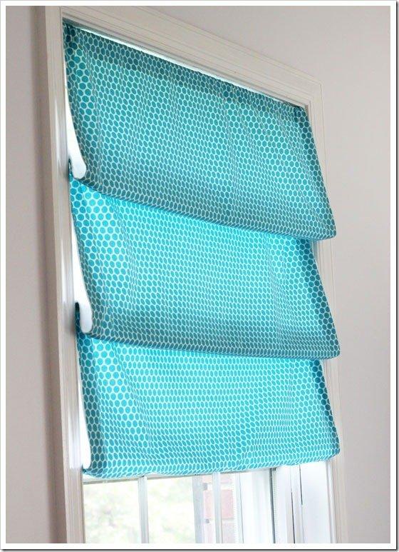 One-Yard Window Treatment
