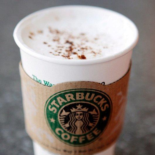 Starbucks, latte, cup, drink, coffee cup,