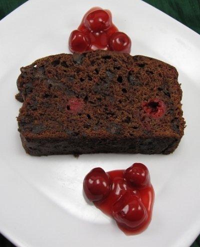 Chocolate Cherry Quickbread