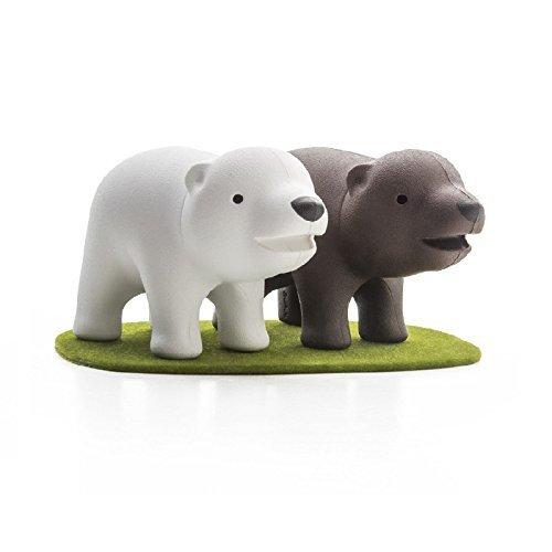 mammal, figurine, animal figure, toy, polar bear,