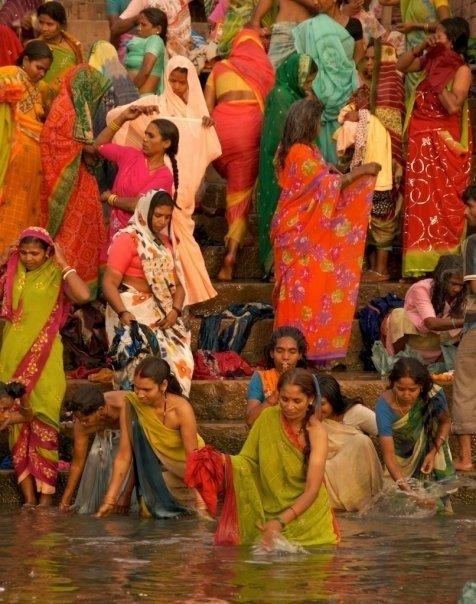 Varanasi Bath Time