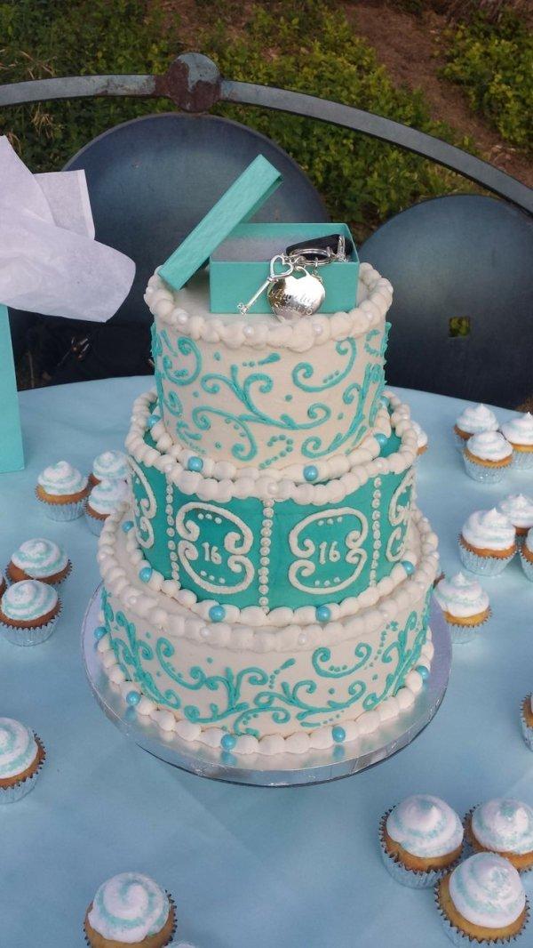 Tiffany & Co. Tiffany Sweet 16 Birthday Cake