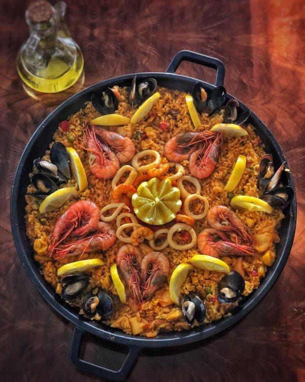 Dish, Cuisine, Food, Paella, Ingredient,