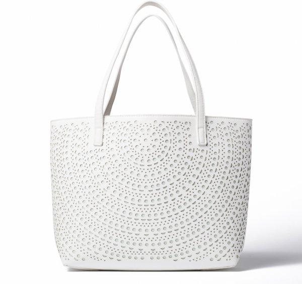 Marshalls White Bag