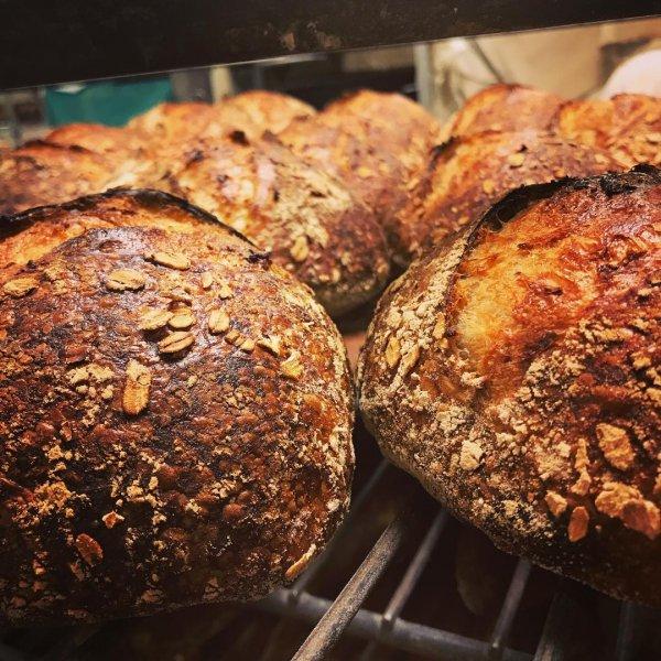 baked goods, bread, rye bread, baking, sourdough,