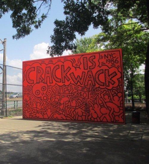 Crack Is Wack, Crack is Wack, Crack is Wack, red, RFK,