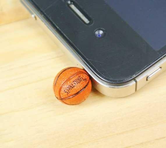 NBA Mini Basketball anti Dust Plug