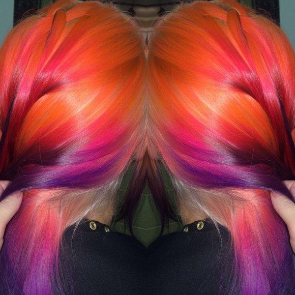 Northern Lights Hair by Ursula Goff