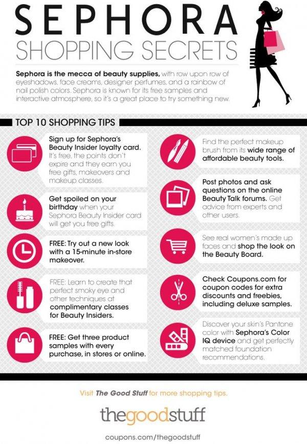 Sephora Shopping Hacks
