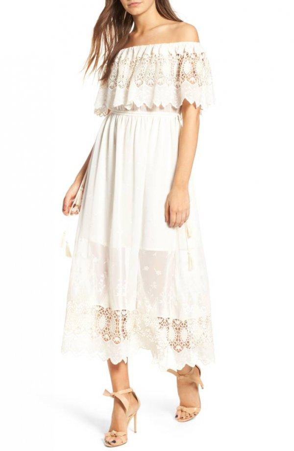 clothing, dress, day dress, shoulder, joint,