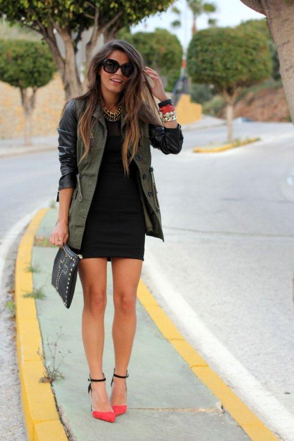 Slick Leather Sleeves