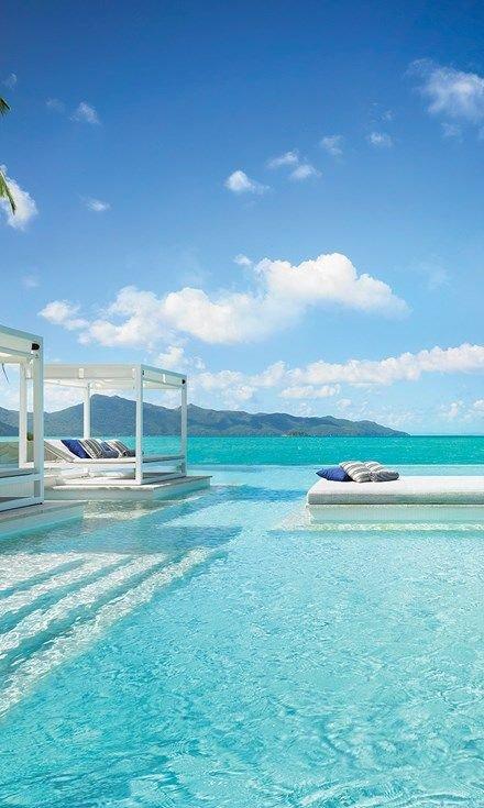 sea, coastal and oceanic landforms, caribbean, swimming pool, sky,