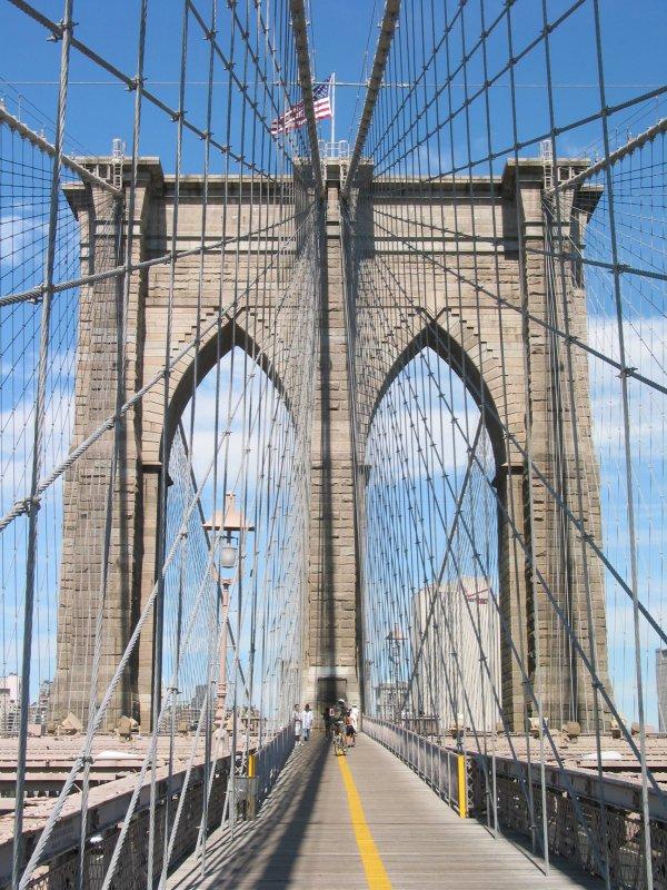 Brooklyn Bridge: New York, USA