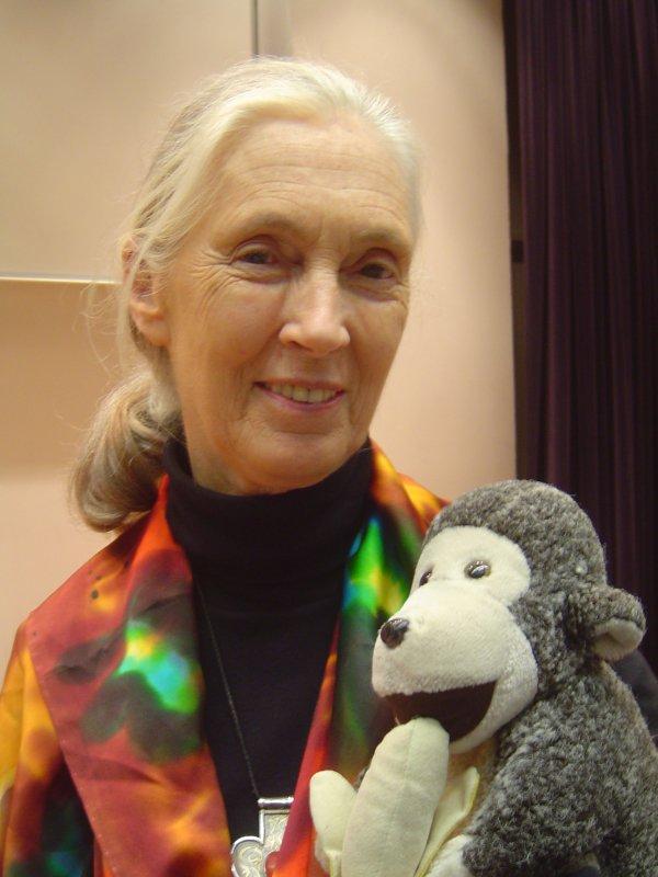 Jane Goodall (1934 – P.)