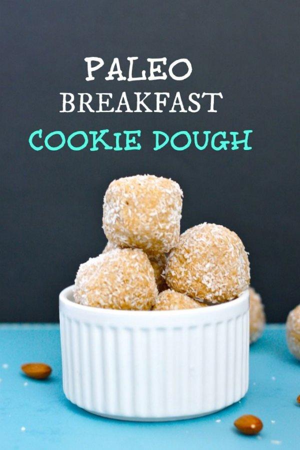 Paleo Breakfast Cookie Dough