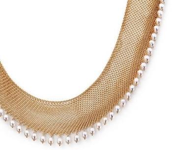 Tiffany Elsa Peretti Mesh Collar Necklace