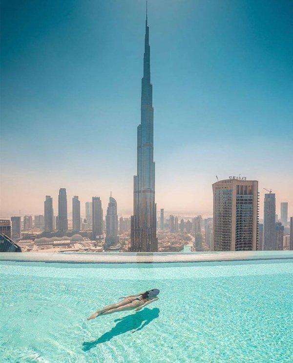 Skyscraper, Sky, Daytime, City, Blue,