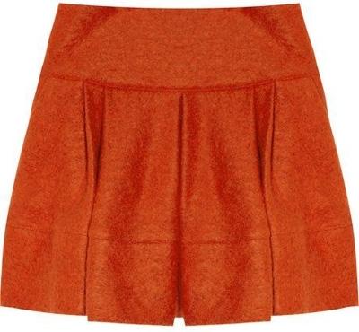 Markus Lupfer Pleated Mini Skirt