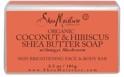 SheaMoisture Coconut & Hibiscus Face & Body Bar