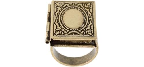 Vintage Locket Ring by ASOS