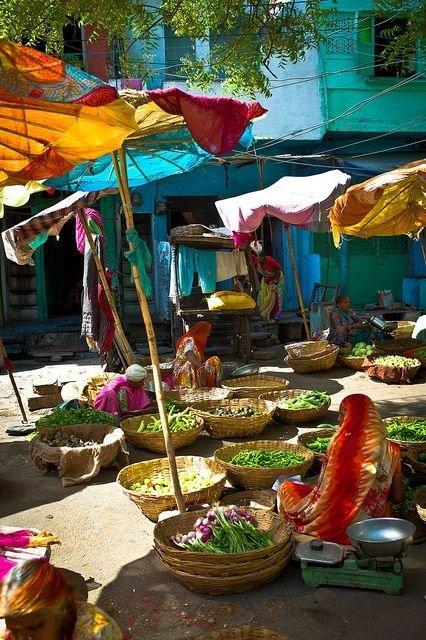 Vegetable Market in Udaipur