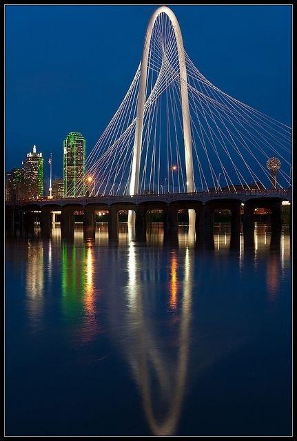 Margaret Hunt Hill Bridge, Dallas