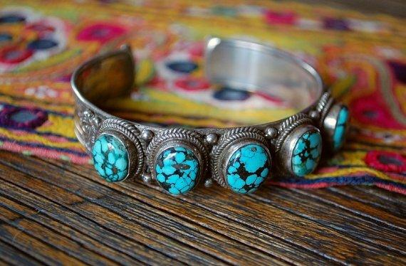 Tibetan Cuff Bracelets