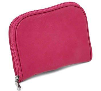 Pink Zip around Jewelry Wallet