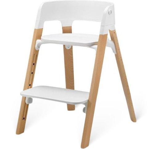 Steps Children's Highchair, Natural