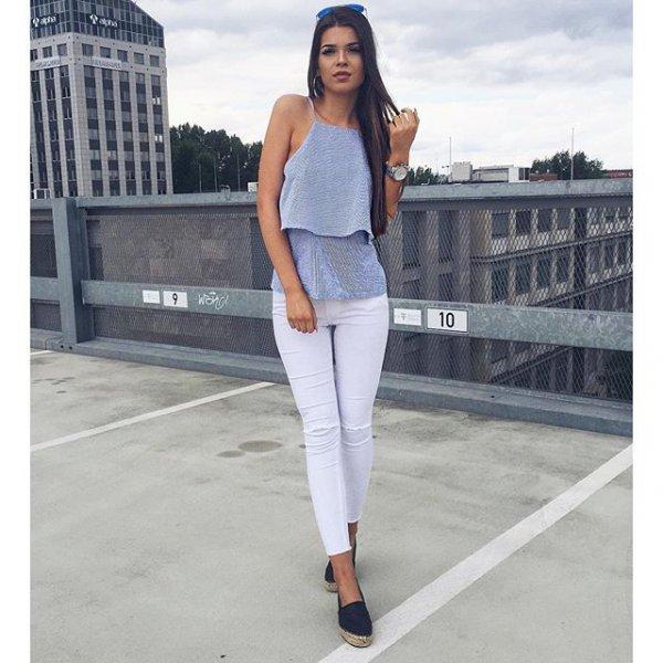 white, clothing, jeans, denim, sleeve,