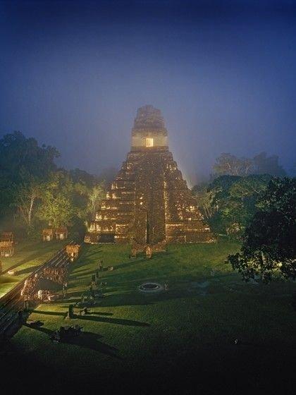 The Temple of the Masks, Tikal, Guatemala