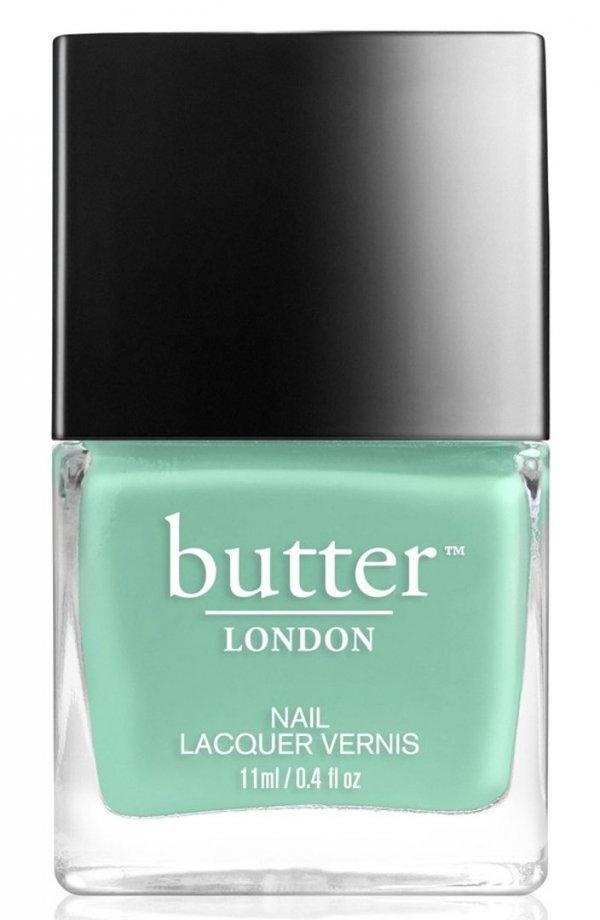 Butter London, nail polish, nail care, green, cosmetics,