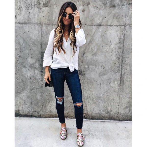 clothing, footwear, sleeve, jeans, denim,