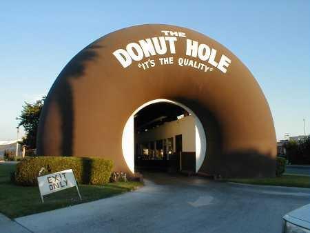 The Donut Hole, La Puente, Southern California, USA