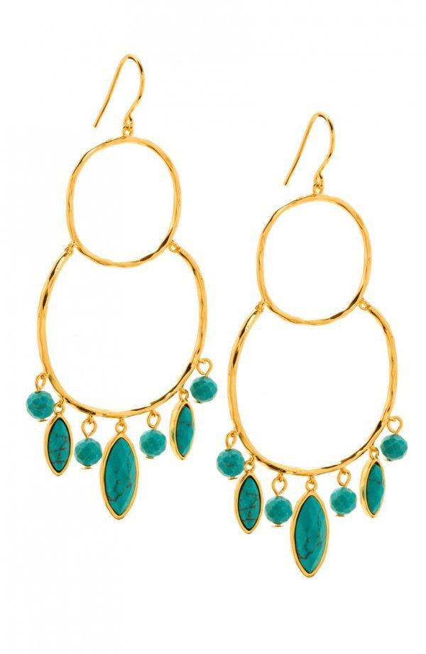 earrings, jewellery, fashion accessory, body jewelry, turquoise,