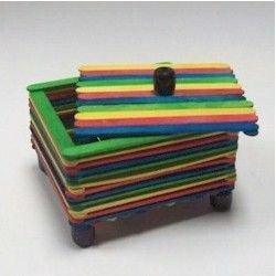 Lollipop Sticks Box