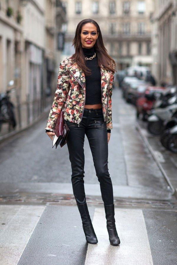 Wear a Floral Jacket
