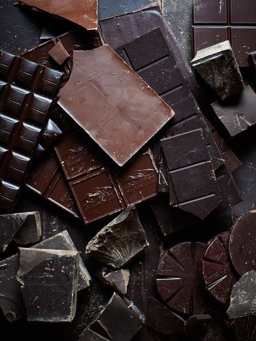 dessert, chocolate, brown, food, leather,