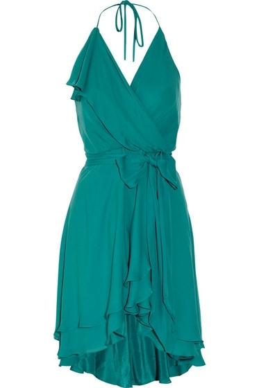 Haute Hippie Wrap-Effect Dress