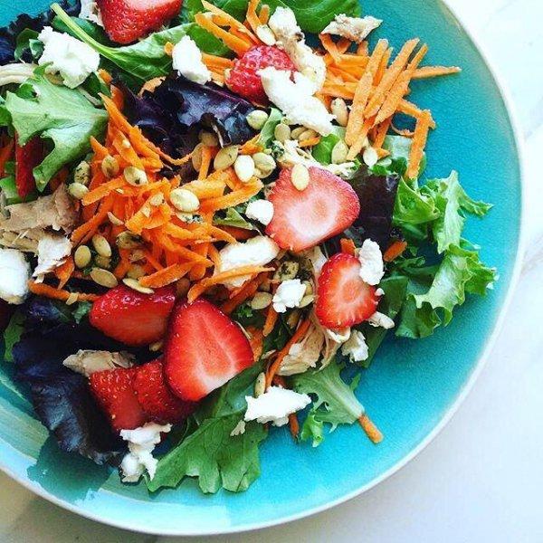salad, dish, food, produce, vegetable,