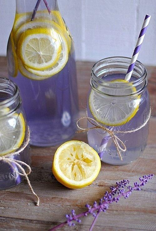 Lavender Water and Lemon