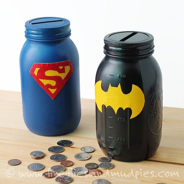 Superhero Mason Banks