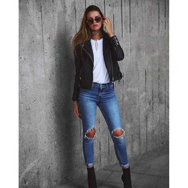 jeans, clothing, denim, footwear, leather,