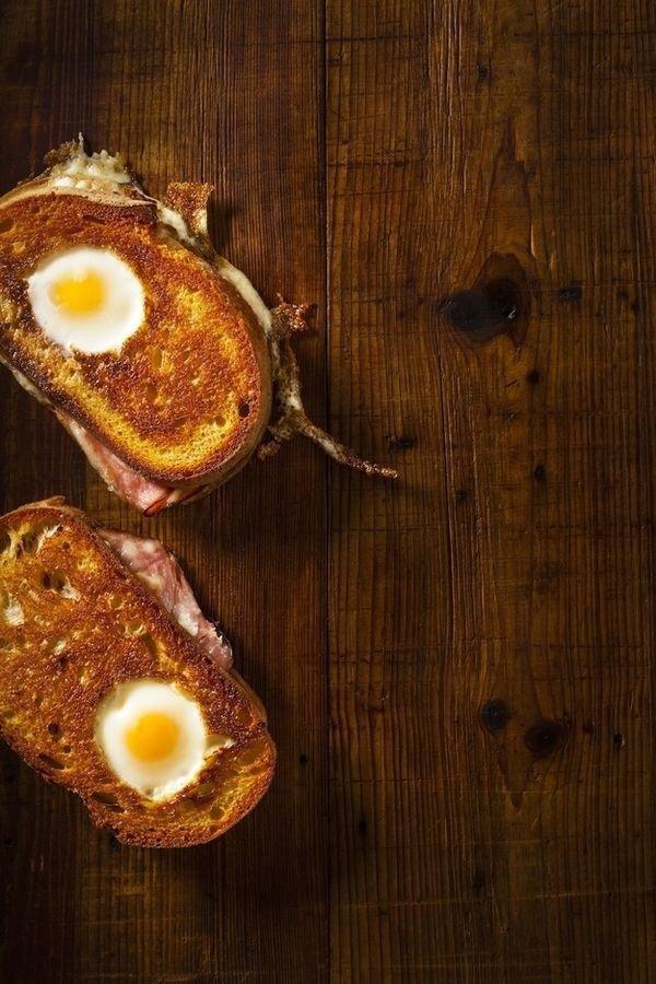 Gourmet Egg Sandwich